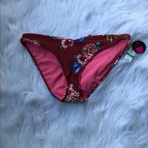 Floral swim bottom